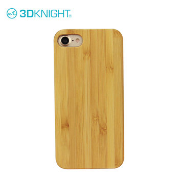 Bamboo wood carving custom 3d hard pc cover case for iphone 8 original brand cases