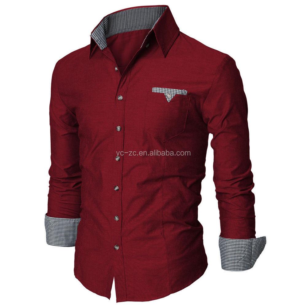c55b02bcda4 long sleeve cheap casual shirts wholesale cotton fashion men dress shirt  plus size mens shirts