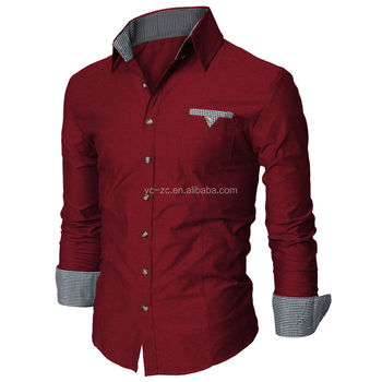 Long sleeve cheap casual shirts wholesale cotton fashion for Buy mens dress shirts online