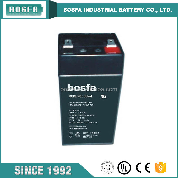 sealed lead acid battery 4v 4.0ah rechargeable battery cell 4v batteries 4ah