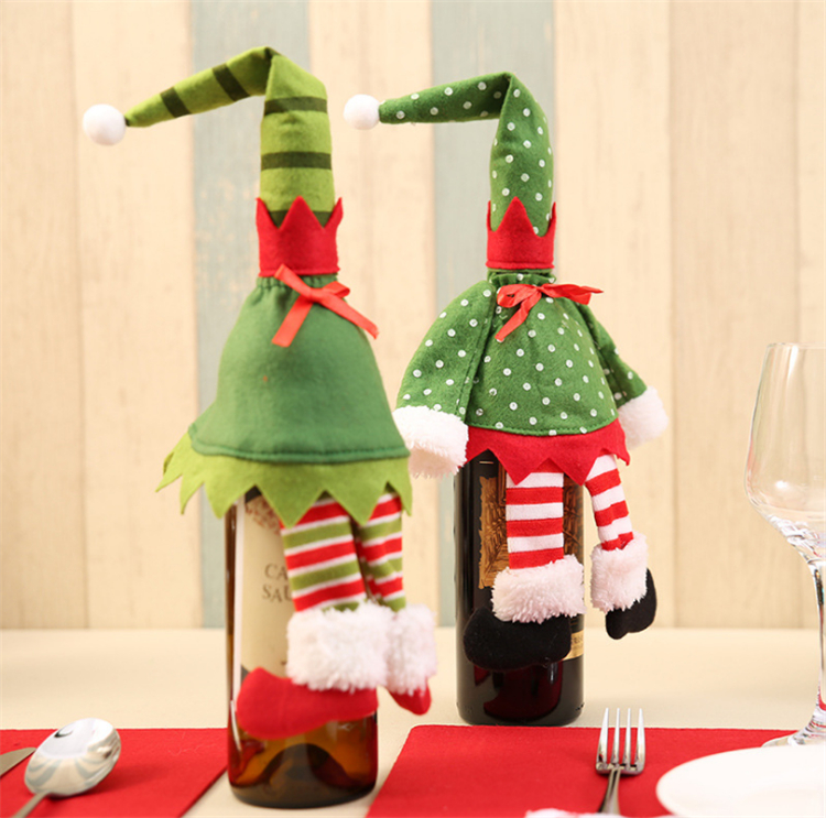 wine bottle ornament christmas ornaments with names