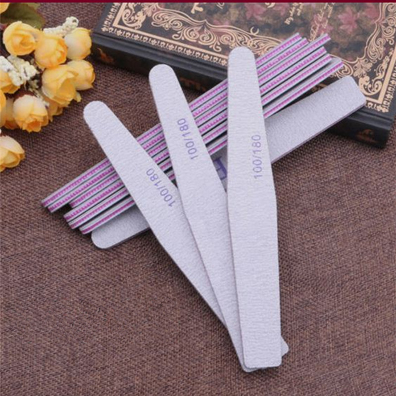 Professional Nail File Disposable Wood Nail File For Nail Salon