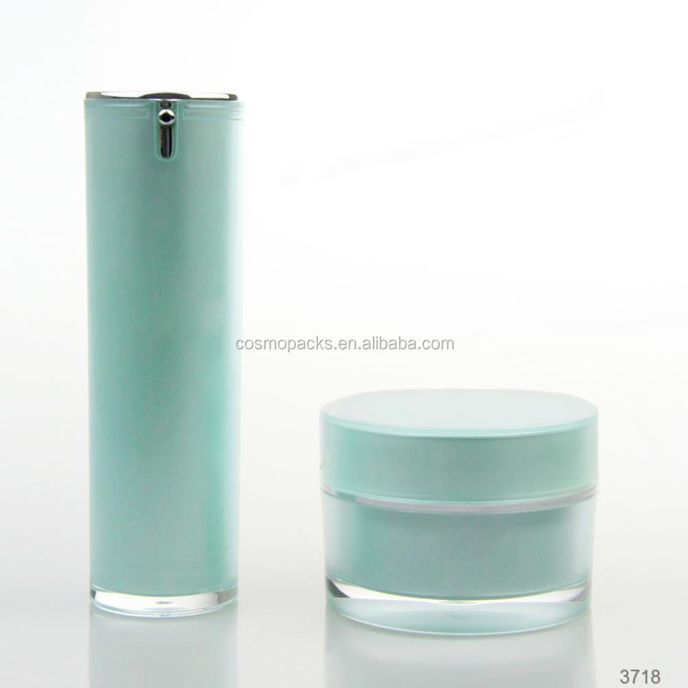 ECO FRIENDLY 15ML 30ML COATED ALUMINUM COSMETIC AIRLESS <strong>BOTTLE</strong>