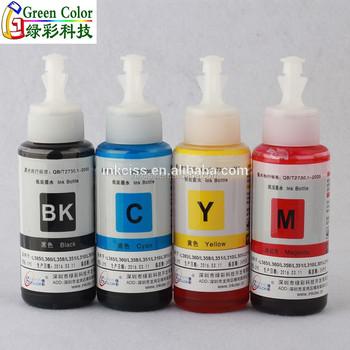 Tinta For Epson T664 For L310/l375/l220/l475/l575/l655/l1300/l1800 Inkjet  Printer - Buy Premium Refill Dye Ink For Epson,Refill Dye Ink For Epson