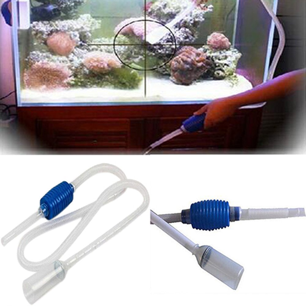 Electric Aquarium Gravel Cleaner Fish Tank Washer Water Changer Pump Filter New Rich And Magnificent Fish & Aquariums Cleaning & Maintenance