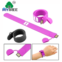 Mytree Wedding Business Gift Cheap Usb Silicion Bracelet Wristband Flash Disk Usb Pen Drive For Sale