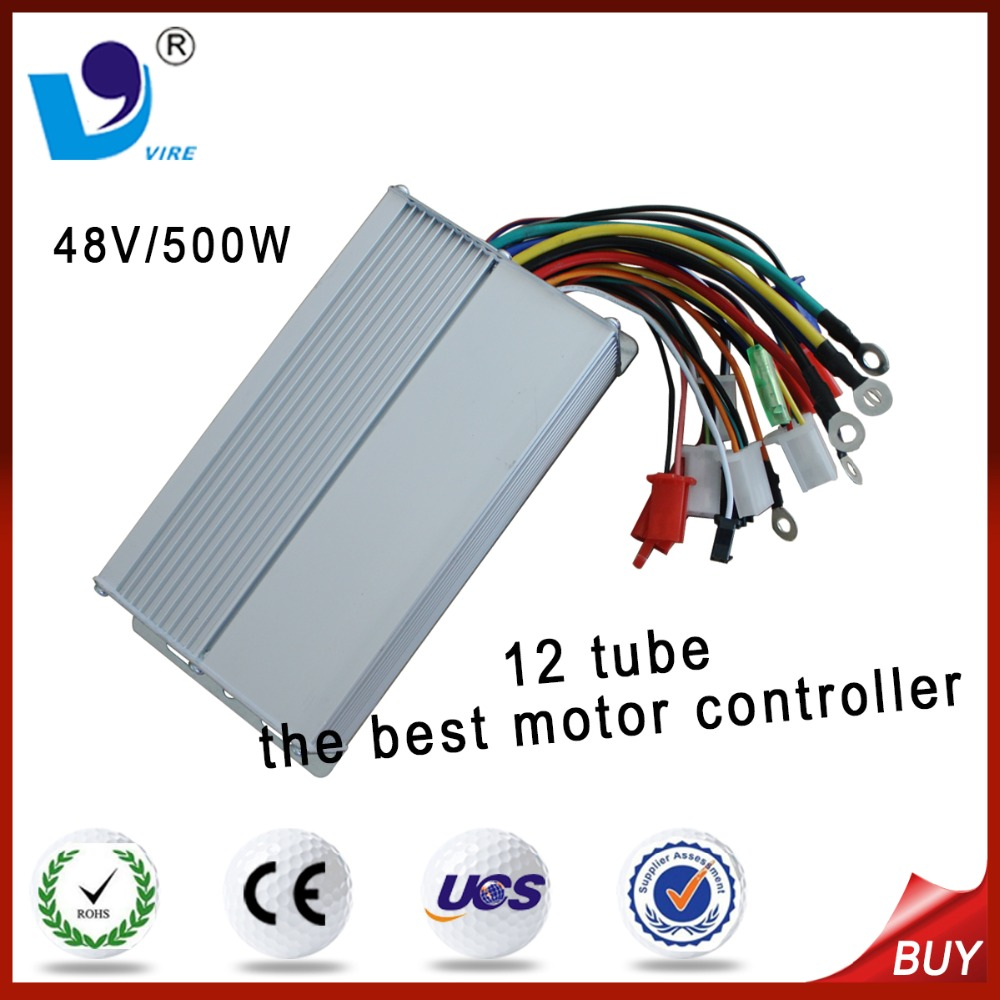 12 Mosfet 48V 500W Brushless DC Motor Controller Variable Speed