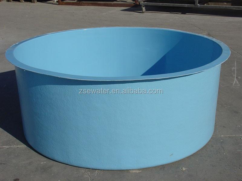 Fiberglass Frp Fish Farm Plastic Fish Tank /round Fish Tank