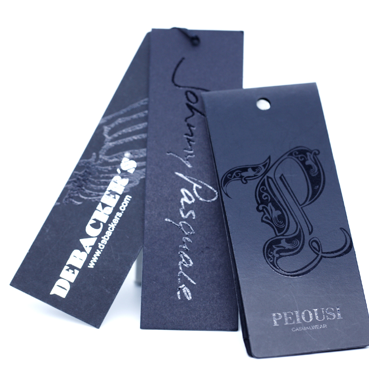 wholesale Custom made hang tags for jeans