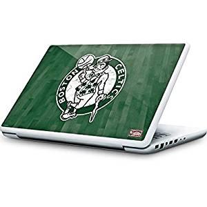 NBA Boston Celtics MacBook 13-inch Skin - Boston Celtics Hardwood Classics Vinyl Decal Skin For Your MacBook 13-inch