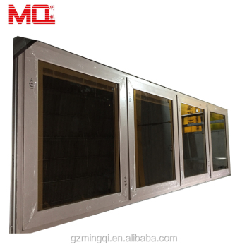 Aluminium profile doors and windows double glass price