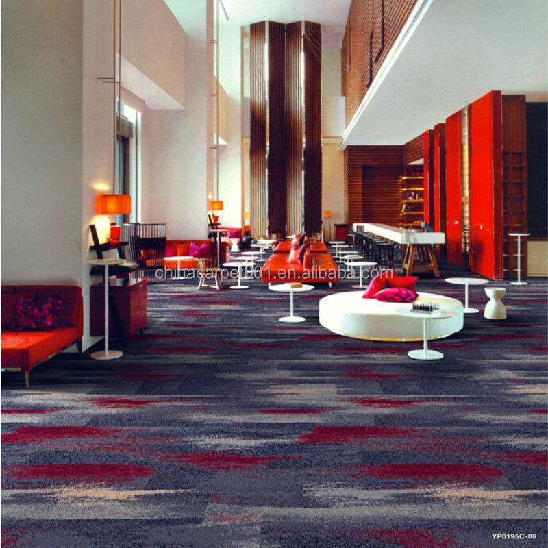 Hotel Foyer Meaning : Nylon printed modern banquet hall carpet wall to