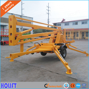 China Hot sale compact boom lift crawler manufacturer With ISO9001  Certificate