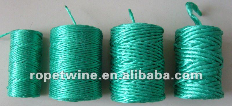 green color polypropylene baler twine