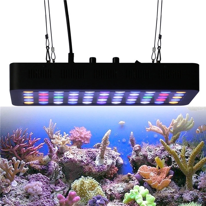 Adjustable 55pcs 3w Full Spectrum led coral reef aquarium light