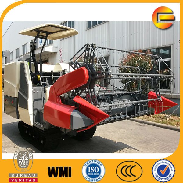 large factory volume production paddy harvesting machine with wholesale price