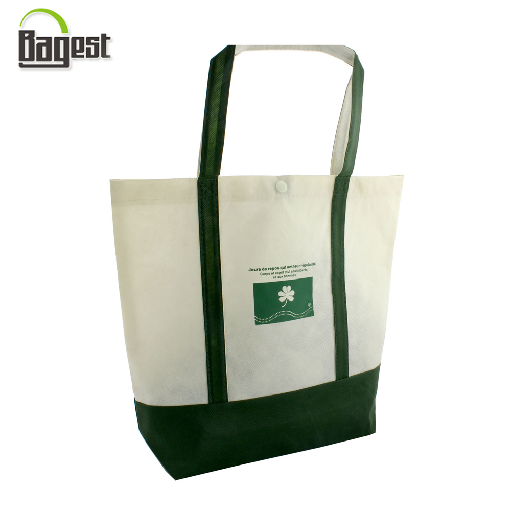 direct factroy printed promotional tote shopping pp non woven bag