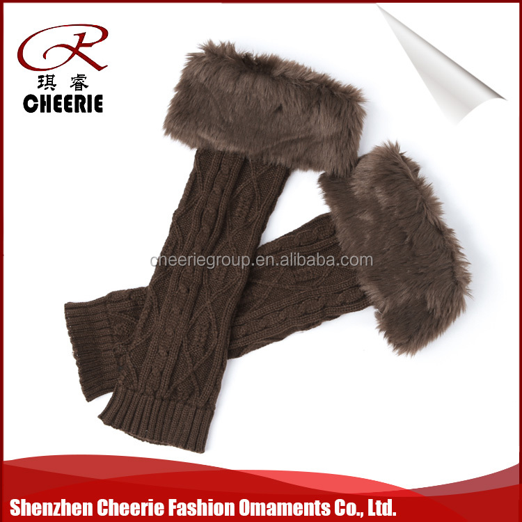 2018 chinese prodcut wholesale and factory price twist pattern leg warmer