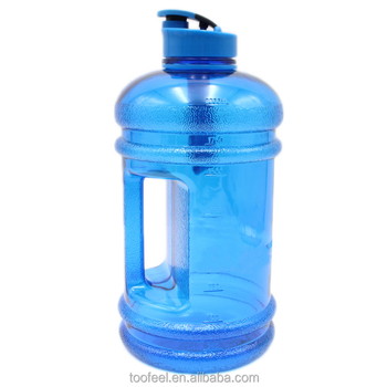 2 2l Bpa Free Petg Plastic Water Jug With Handle Bottle Fitness Product Tritan Clear