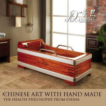 holz badewanne holz whirlpool b der f r senioren buy product on. Black Bedroom Furniture Sets. Home Design Ideas