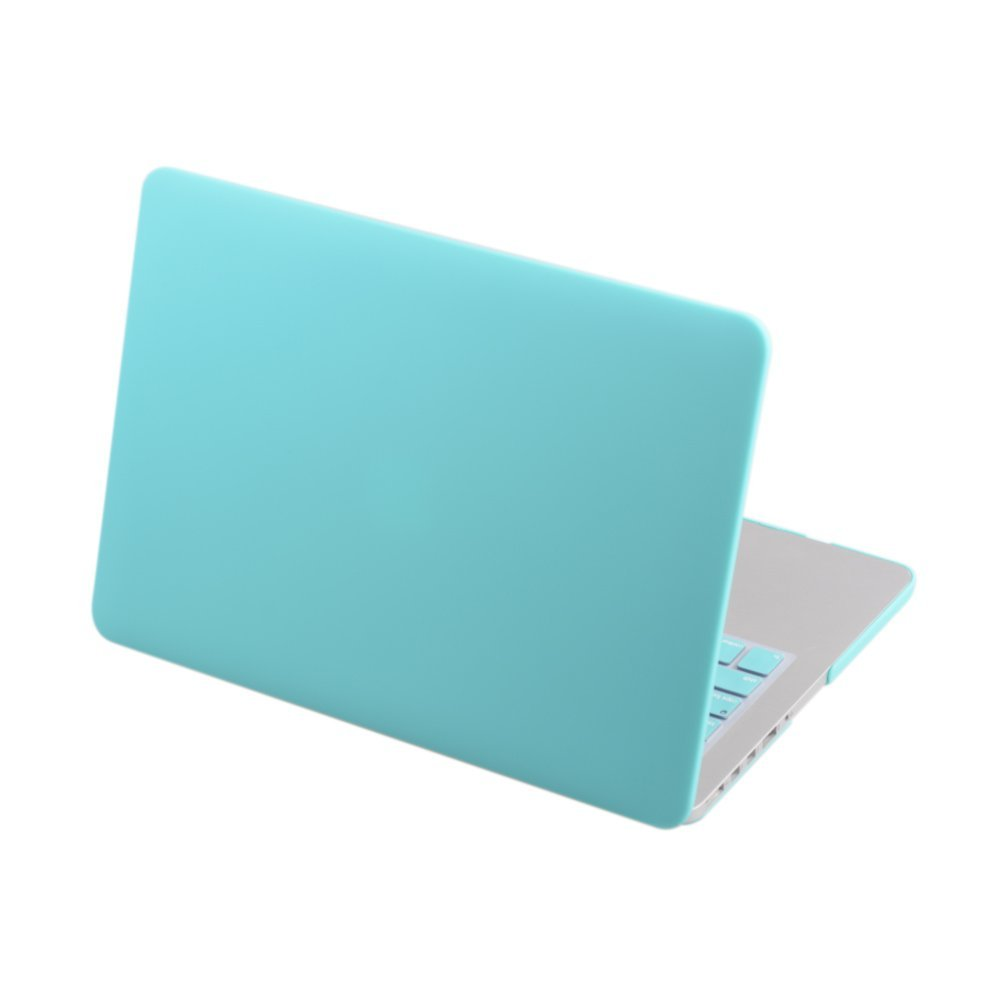 """Pro 13"""" Case, AYAMAYA for Macbook Pro 13.3 inch Case Cover (Model : A1278) Frosted Matte Rubberized Laptop Case Snap On PC Protection Skin - Turquoise"""