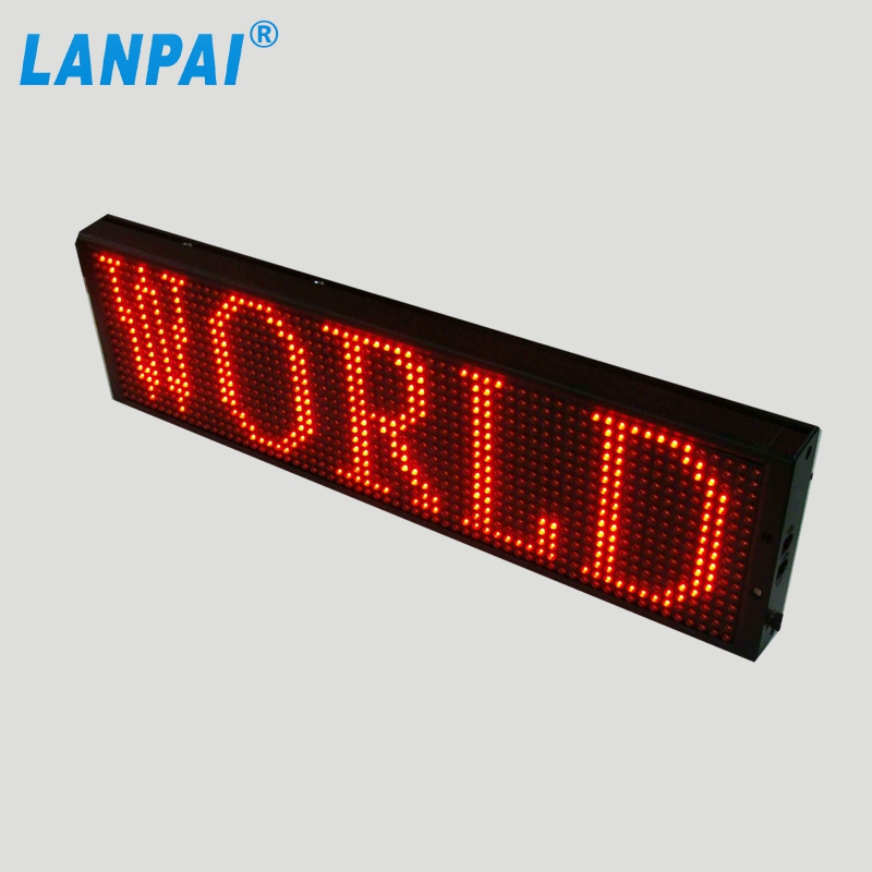 factory direct sale led message moving sign for advertisement