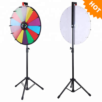 24'' Floor Standing Spinning Prize Wheel,Spin To Win,Wheel Of Fortune - Buy  Spin To Win,Wheel Of Fortune,Floor Standing Spinning Prize Wheel Product