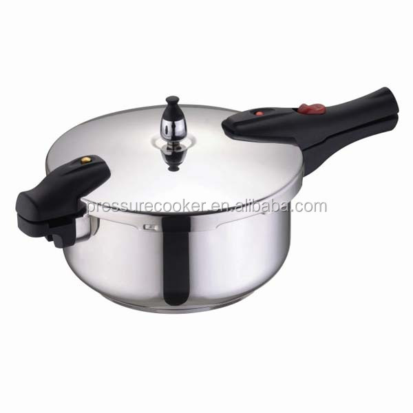 Korea Hot Sale 100% Safety Weight Valve Stainless Steel Pressure Cooker