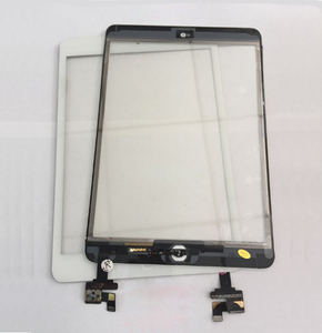 For Ipad mini Touch screen complete For Ipad mini 1 touch with Flex with Button Digitizer