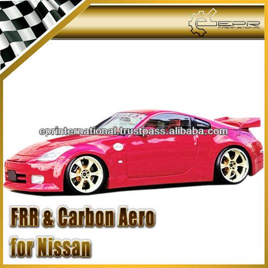For Nissan 350z Z33 Fab-style Full Bumper Body Kit