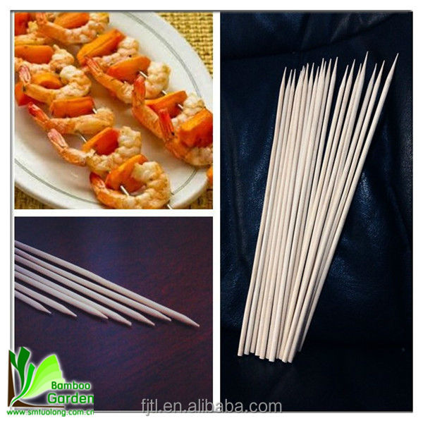 Original Ecology Strong Bamboo BBQ Seafood Skewers