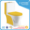 Chaozhou color toilet ceramic one piece toilet floor standing wc toilet