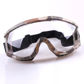 Cheap high quality PC lens paintball mask goggles