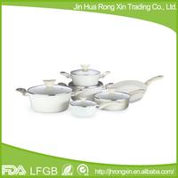 3003 aluminum alloy hard anodized cookware set