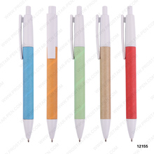 Best selling high quality eco friendly recycled paper ballpen