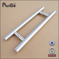 RB-3001 H shape entrance stainless steel glass door handle