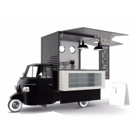 Street foodtruck Piaggio ape classic food truck for sale USA UK Philippines