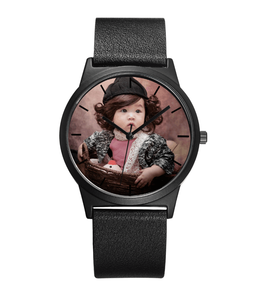 Express Ali Watch Watch Face Custom Print Brand Name Logo Custom Watch Put on Your Baby/Family/Friend Photo