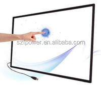 60 ir touch screen panel overlay,Infrared multi touch screen,touch screen panel on Monitor