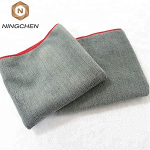 Cheap Wholesale High Quality China 1200gsm microfiber coral fleece towels car cleaning towel with customized color/size/packing