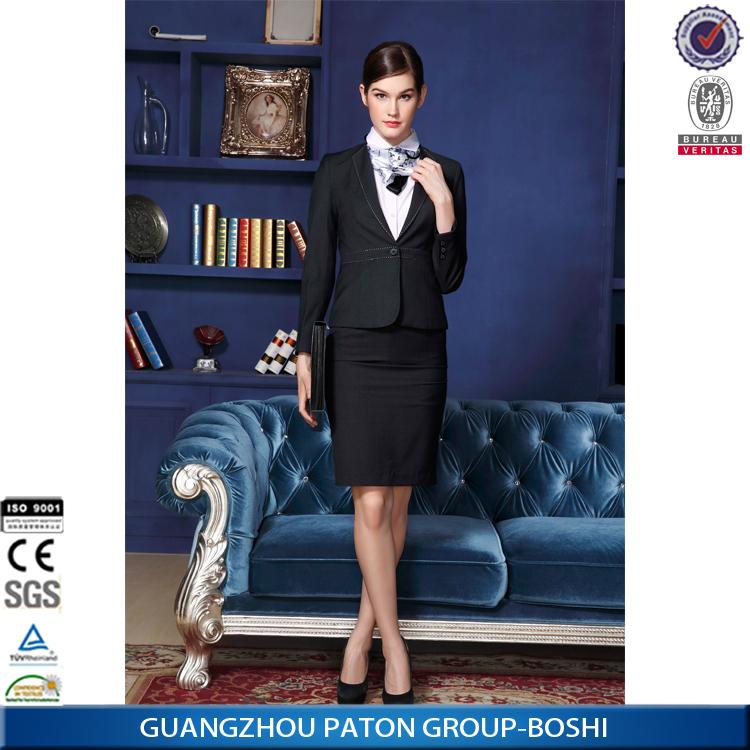 Custom Suit Customized Women S 3 Piece Business Suits Sets Md1a8836