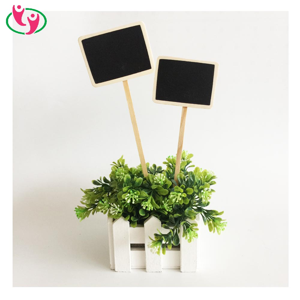 Quality Mini Home Garden Yard Decorating Black Board Chalkboard