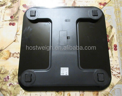 6MM thickness Temper glass platform body weighing scale 180Kg/396 lb