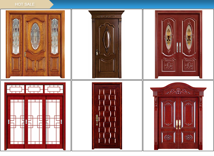Painting Double New Solid Door Front Door Design for house and hotel
