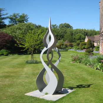Garten Metall Moderne Skulptur Für Die Dekoration Buy Garten