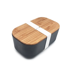 Biodegradable Bamboo 100% Natural Food use Bento Lunch Box