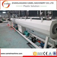 Plastic of pvc pipe production line with high speed extrusion