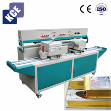 Book edge polishing gilding stamping machine for photo lab, Paper board polishing and gilding stamping machine for sale