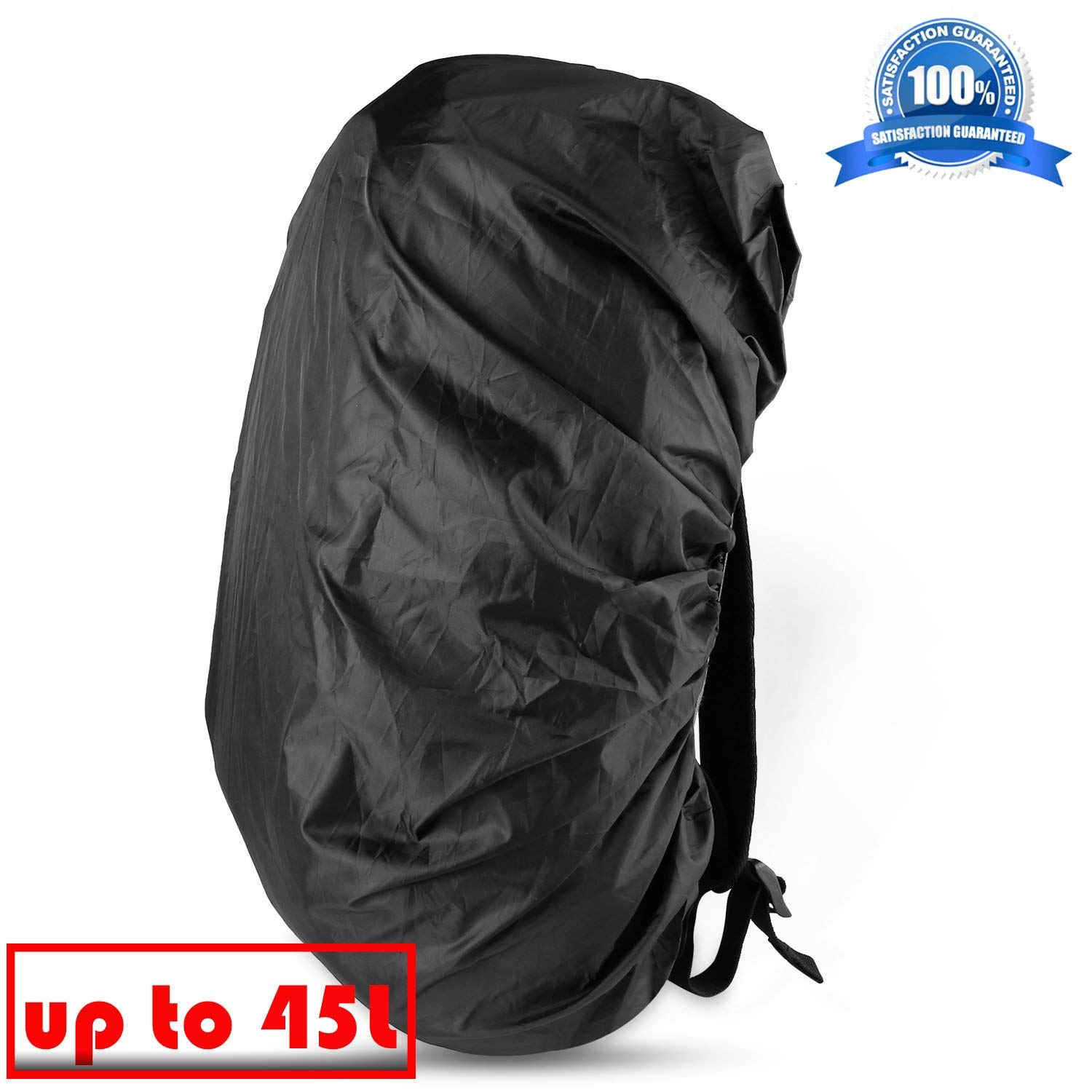 Traveling Outdoor Activities Camping Natuworld Pure Color Nylon Backpack Rucksack Rain Cover Waterproof Dustproof Cover for Hiking Fit for 35L//45L//60L//70L//80L Available