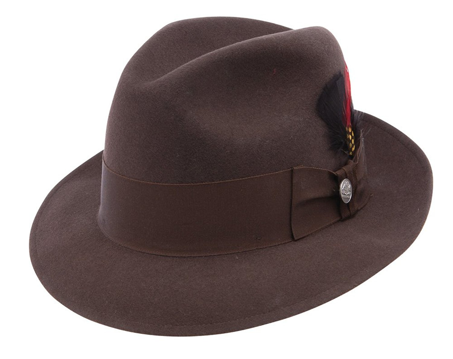 Get Quotations · Stetson Mink Brown Frederick Fedora (7 1 8) ea11218f0ab3